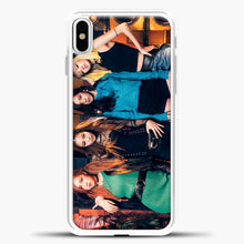 Load image into Gallery viewer, Blackpink Rock iPhone X Case, White Plastic Case | casedilegna.com