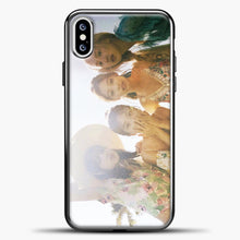 Load image into Gallery viewer, Blackpink Summer iPhone XS Case, Black Plastic Case | casedilegna.com