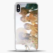 Load image into Gallery viewer, Blackpink Summer iPhone XS Case, White Plastic Case | casedilegna.com