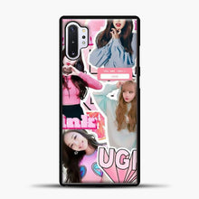Load image into Gallery viewer, Blackpink Ugh Samsung Galaxy Note 10 Plus Case, Black Plastic Case | casedilegna.com