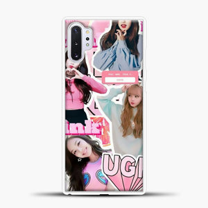 Blackpink Ugh Samsung Galaxy Note 10 Plus Case, White Plastic Case | casedilegna.com