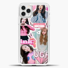 Load image into Gallery viewer, Blackpink Ugh iPhone 11 Pro Case, White Plastic Case | casedilegna.com