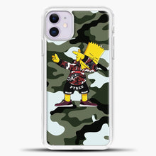 Load image into Gallery viewer, Camouflage Cartoon Bartsimpson iPhone 11 Case