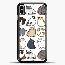 Load image into Gallery viewer, Cats Cats Cats Pattern iPhone X Case