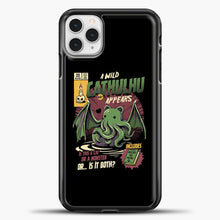 Load image into Gallery viewer, Chathulhu iPhone 11 Pro Case, Black Plastic Case | casedilegna.com