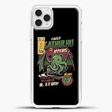 Load image into Gallery viewer, Chathulhu iPhone 11 Pro Case, White Plastic Case | casedilegna.com
