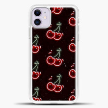 Load image into Gallery viewer, Cherry Neon Pattern iPhone 11 Case