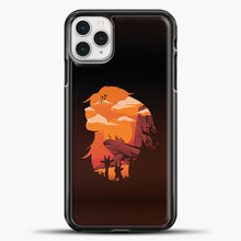 Load image into Gallery viewer, Circle Of Live iPhone 11 Pro Case, Black Plastic Case | casedilegna.com