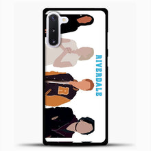 Load image into Gallery viewer, Core Four Riverdale Minimalist Samsung Galaxy Note 10 Case, Black Plastic Case | casedilegna.com
