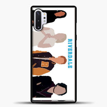 Load image into Gallery viewer, Core Four Riverdale Minimalist Samsung Galaxy Note 10 Plus Case, Black Plastic Case | casedilegna.com