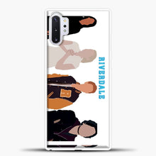 Load image into Gallery viewer, Core Four Riverdale Minimalist Samsung Galaxy Note 10 Plus Case, White Plastic Case | casedilegna.com