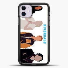 Load image into Gallery viewer, Core Four Riverdale Minimalist iPhone 11 Case, Black Plastic Case | casedilegna.com