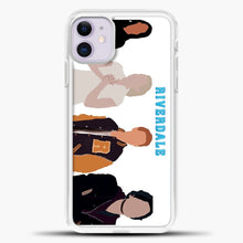 Load image into Gallery viewer, Core Four Riverdale Minimalist iPhone 11 Case, White Plastic Case | casedilegna.com