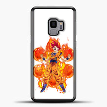 Load image into Gallery viewer, Dragon Ball Z Fire Power Samsung Galaxy S9 Case