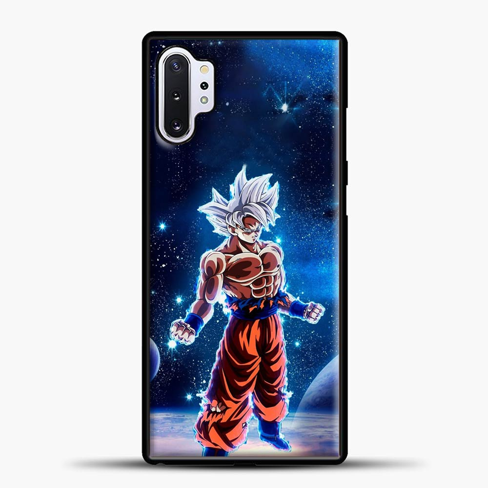 Dragon Ball Z Galaxy Background Samsung Galaxy Note 10 Plus Case