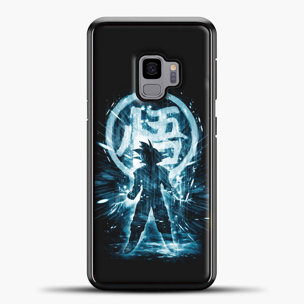 Dragon Ball Z Storm Black Background Samsung Galaxy S9 Case