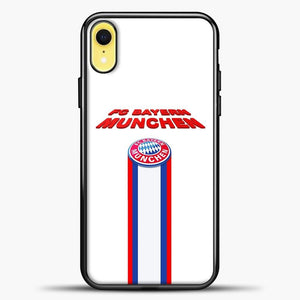 FC Bayern Bayern Munchen Bavaria Germany Soccer Team iPhone XR Case, Black Plastic Case | casedilegna.com