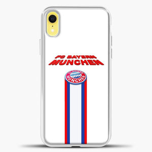 FC Bayern Bayern Munchen Bavaria Germany Soccer Team iPhone XR Case, White Plastic Case | casedilegna.com