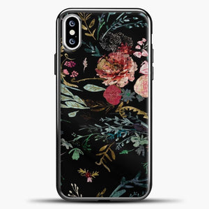 Fable Floral Black iPhone XS Case