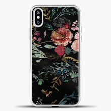 Load image into Gallery viewer, Fable Floral Black iPhone XS Case