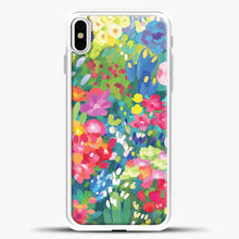 Load image into Gallery viewer, Florals For Spring iPhone Case, White Plastic Case | casedilegna.com