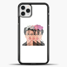 Load image into Gallery viewer, Frida Kahlo Some Shadow iPhone 11 Pro Case, Black Plastic Case | casedilegna.com