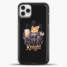 Load image into Gallery viewer, Friday Knight iPhone 11 Pro Case, Black Plastic Case | casedilegna.com