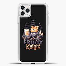 Load image into Gallery viewer, Friday Knight iPhone 11 Pro Case, White Plastic Case | casedilegna.com