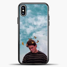 Load image into Gallery viewer, Friends Butterfly iPhone XS Max Case, Black Plastic Case | casedilegna.com