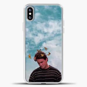 Friends Butterfly iPhone XS Max Case, White Plastic Case | casedilegna.com
