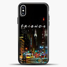 Load image into Gallery viewer, Friends City iPhone XS Max Case, Black Plastic Case | casedilegna.com