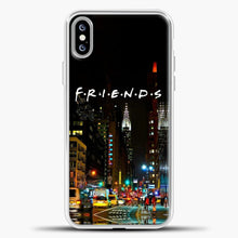 Load image into Gallery viewer, Friends City iPhone XS Max Case, White Plastic Case | casedilegna.com