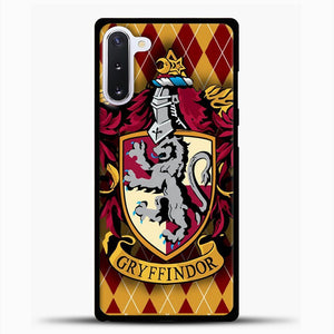 Gryffindor Harry Potter Fridge Magnet Samsung Galaxy Note 10 Case, Black Plastic Case | casedilegna.com