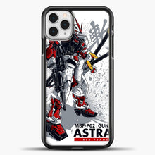 Load image into Gallery viewer, Gundam Astray Red Frame iPhone 11 Pro Case, Black Plastic Case | casedilegna.com