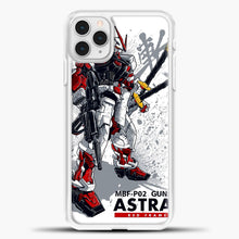 Load image into Gallery viewer, Gundam Astray Red Frame iPhone 11 Pro Case, White Plastic Case | casedilegna.com