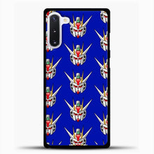 Load image into Gallery viewer, Gundam Face Pattern Samsung Galaxy Note 10 Case, Black Plastic Case | casedilegna.com
