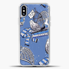 Load image into Gallery viewer, Harry Potter Blue Background iPhone XS Max Case, White Plastic Case | casedilegna.com