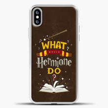 Load image into Gallery viewer, Harry Potter Chocolate Background iPhone XS Max Case, White Plastic Case | casedilegna.com