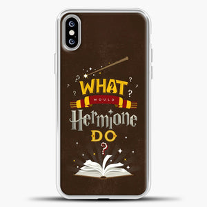 Harry Potter Chocolate Background iPhone XS Max Case, White Plastic Case | casedilegna.com