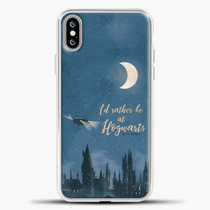 Harry Potter Fliying Car iPhone XS Max Case, White Plastic Case | casedilegna.com