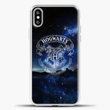 Load image into Gallery viewer, Harry Potter Galaxy Background iPhone XS Max Case, White Plastic Case | casedilegna.com