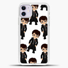 Load image into Gallery viewer, Harry Potter Kawaii iPhone 11 Case, White Plastic Case | casedilegna.com