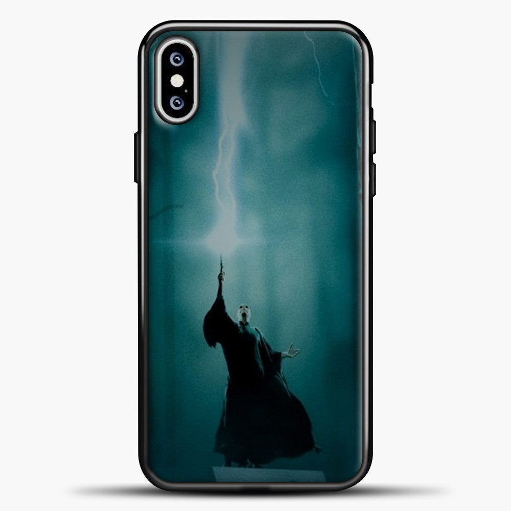 Harry Potter Midle Of The Forest iPhone XS Max Case, Black Plastic Case | casedilegna.com
