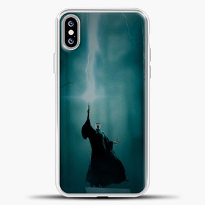 Harry Potter Midle Of The Forest iPhone XS Max Case, White Plastic Case | casedilegna.com