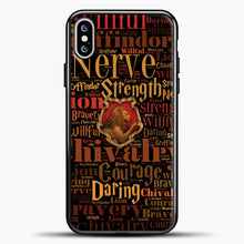 Load image into Gallery viewer, Harry Potter Movie iPhone XS Max Case, Black Plastic Case | casedilegna.com