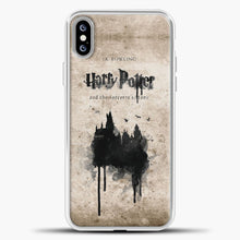 Load image into Gallery viewer, Harry Potter Old Paper iPhone XS Max Case, White Plastic Case | casedilegna.com