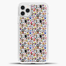 Load image into Gallery viewer, Harry Potter Pattern Drawing iPhone 11 Pro Case, White Plastic Case | casedilegna.com