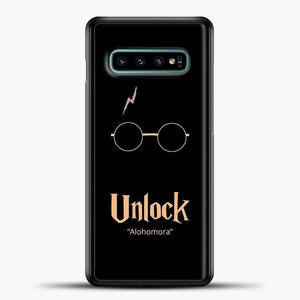 Harry Potter Peach Image Samsung Galaxy S10e Case, Black Plastic Case | casedilegna.com