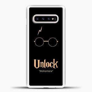 Harry Potter Peach Image Samsung Galaxy S10e Case, White Plastic Case | casedilegna.com