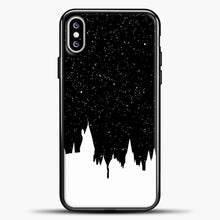 Load image into Gallery viewer, Harry Potter Silhouette Image iPhone XS Max Case, Black Plastic Case | casedilegna.com